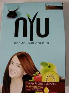 Nyu hair color