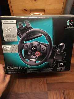 Logitech Driving Force GT GT5 PS3 鈦盤