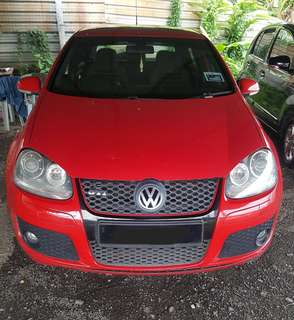 SAMBUNG BAYAR/CONTINUE LOAN  VOLKSWAGEN GOLF GTI MK5 2.0 YEAR 2009 MONTHLY RM 1000 BALANCE 4 YEARS ROADTAX VALID SUNROOF PADDLE SHIFT TIPTOP CONDITION  DP KLIK wasap.my/60133524312/mk5