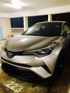 Toyota CHR 1.8 Sporty Fuel Saving Hybrid for GRAB (4 Months Contract ONLY)
