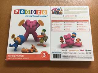 (New) Pocoyo Vol 3 DVD