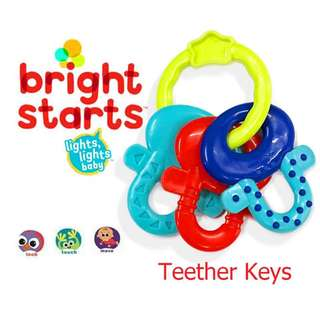 Bright Start Teether Keys