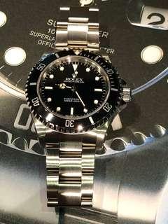 Rolex-14060-盲十-T25面-錶一隻!