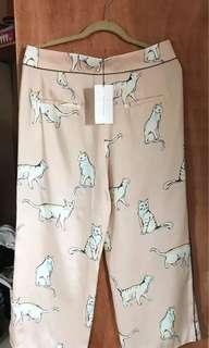 Zara Printed Pants SIZE XL