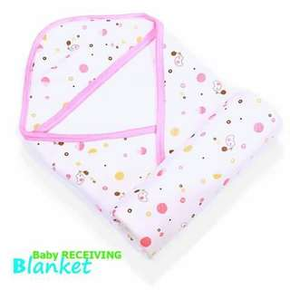 Baby Receiving Blanket - PINK