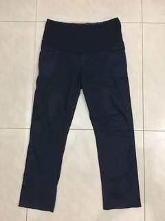Maternity pants stretchable navy blue scarlet size M