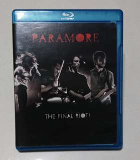 Paramore: The Final Riot! Bluray