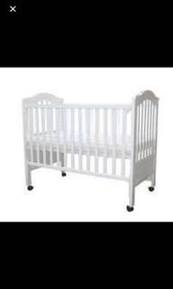 Mothercare convertible baby cot