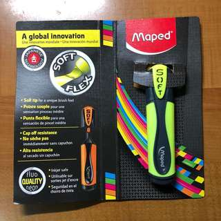 [INSTOCK] Maped Yellow Highlighter