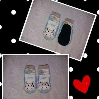 Cow shoe socks