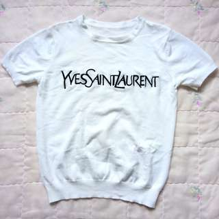 Authentic YSL Semi Crop Top (repriced)