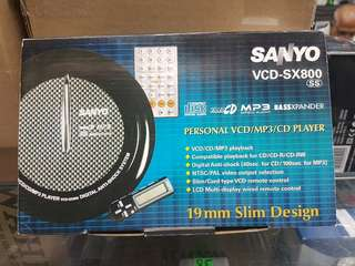 SANYO PERSONAL VCD/MP3 / CD PLAYER