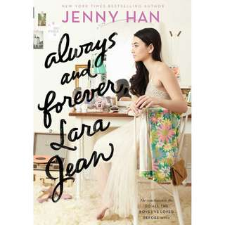 [PRE-ORDER] Always and Forever, Lara Jean by Jenny Han (NOVEL)