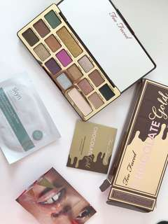 Too Faced Chocolate Gold Palette, Mecca Max Bundle