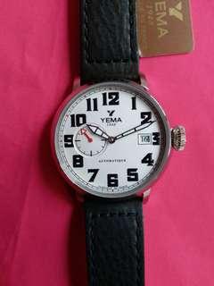 Yema ~ 法國製造 ~Made in France ~ automatic~機械自動~ 全新, 有吊牌及原裝盒, 歡迎完美主義者