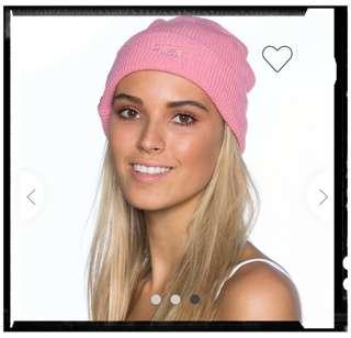 Stussy Pink Beanie 粉紅色帽(澳洲代購)