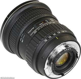 Tokina 11-16mm f/2.8 Pro DX Lens for Nikon Mount