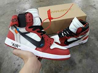 Air Jordan 1 Off-White 'Chicago'