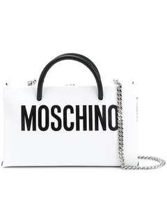 Pre order Moschino logo shoulder purse
