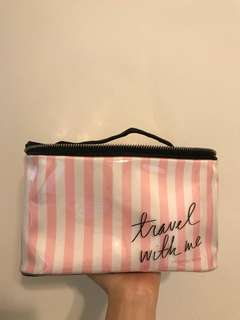 Victoria secret travel makeup bag