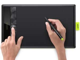 Wacom CTH-670 Bamboo Create Pen & Touch 6x9 Tablet with wireless USB dongle