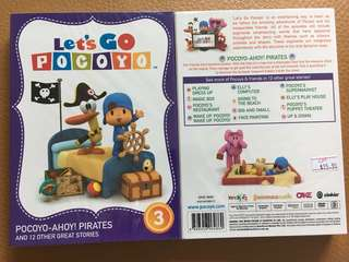 (New) Let's Go Pocoyo Vol 3 DVD