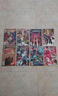 """Justice League of America Vol 2 (DC Comics 8 Issues; #27 to 34, complete story arc on """"When Worlds Collide"""")"""
