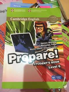 Cambridge emglish prepare students book level 6