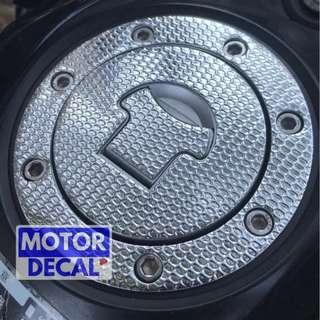 Chrome Honda Gas Pad
