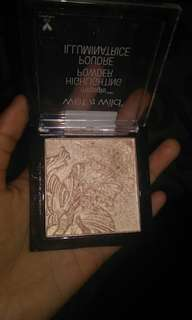 wet n wild highliter powder shade precious petals
