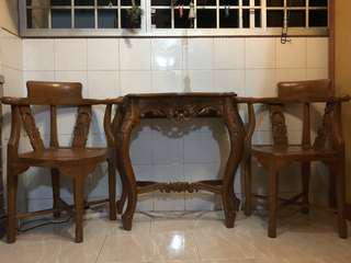 Teakwood Furniture Set