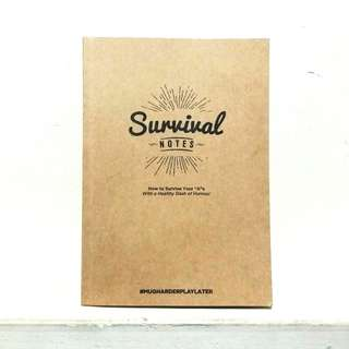 🚚 Cardboard A5 Notebook