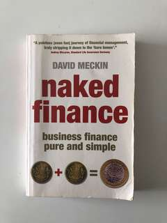 Naked Finance: Business Finance Made Easy