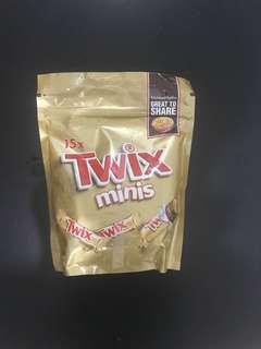 Twix minis @15 impor Arab
