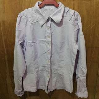 Light violet long sleeves
