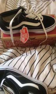 Brand new still with tags old skool vans size 6