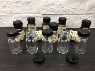30ml Whisky Sample Glass Bottles with Cap
