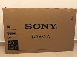 Sony bravia kdl40w650d-40inchs