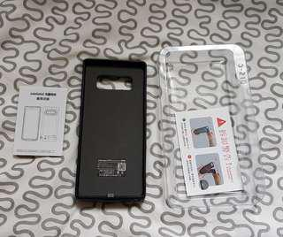 Cover+charger for Samsung Note S8