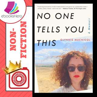 No One Tells You This by Glynnis Macnicol