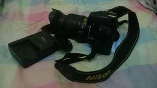 NIKON D3100 with 15-55mm lens