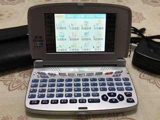 🚚 (含運)無敵電腦辭典CD-606 彩色動畫、觸控螢幕