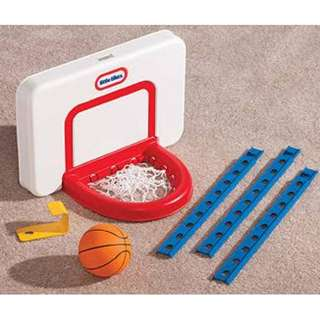 Little Tike Adjustable Basketball Hoop
