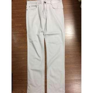 Zara Man 5 pockets skinny gray pants jeans slacks 40/31