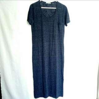 Maxi Tshirt Dress with Slits
