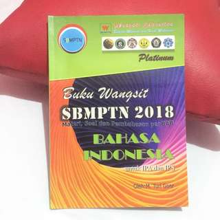 Buku Wangsit SBMPTN 2018 [Platinum] Bahasa Indonesia