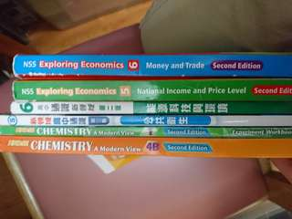 Chem,Ls and econ textbook $50each