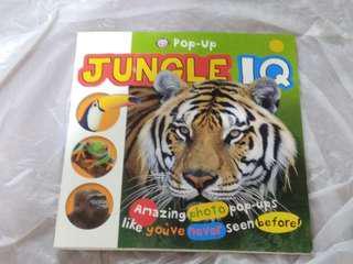 森林動物&恐龍立體書