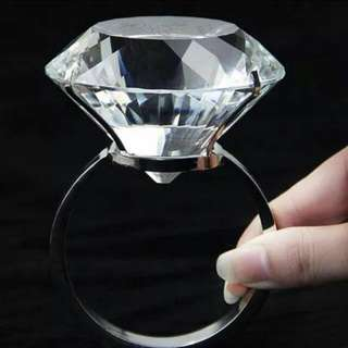 特大鑽石戒指