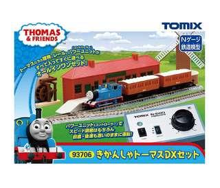 全新 Tomix 93706 Thomas 豪華套裝火車鐵道模型 情景小物 N比例 1/150 (not Tomytec Kato)